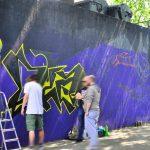 Graffiti Schule